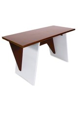 Office Table, Brown
